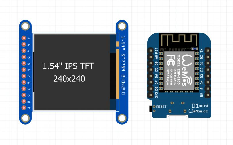 Display images on the TFT LCD ST7789+Arduino
