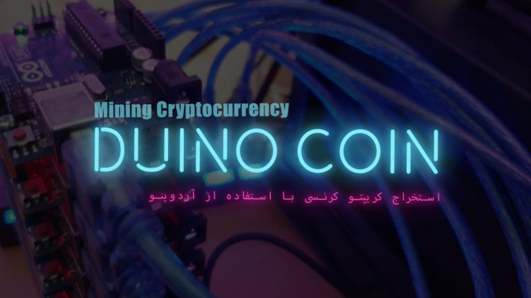 Mining Cryptocurrency using Arduino (DuinoCoin)